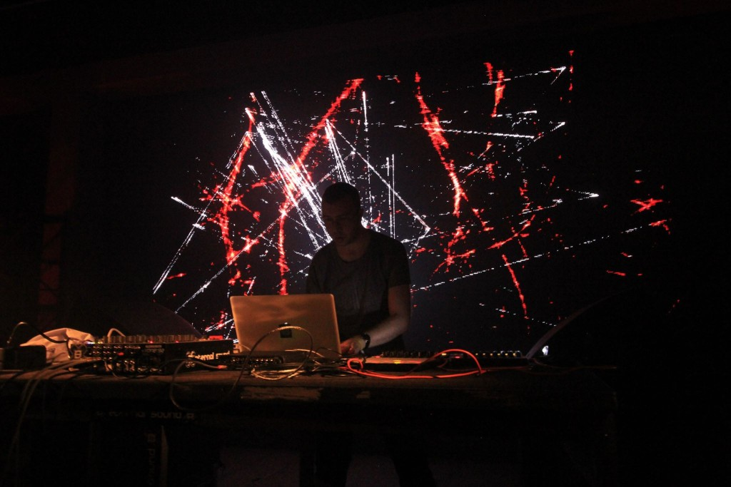 EWERX + Shackleton @ MUTEK.MX 2015 FMCC1 (photo by MUTEK Mexico)